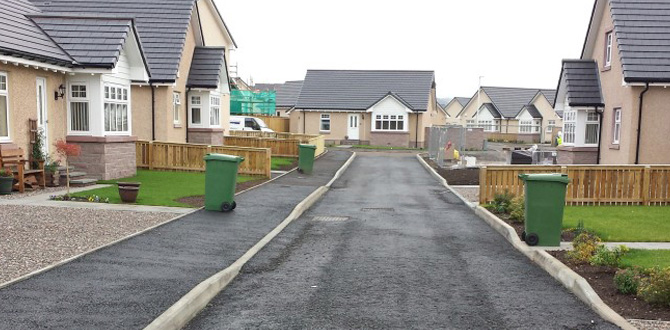 Wester Restenneth Development, Forfar